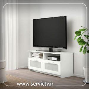 خط افقی در تلویزیون ال جی