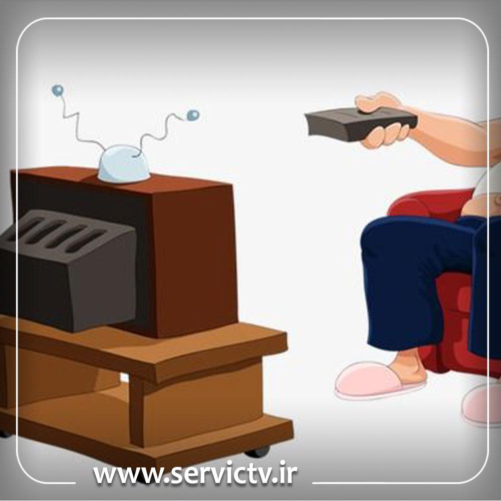 تعمیر پنل تلویزیون سونی