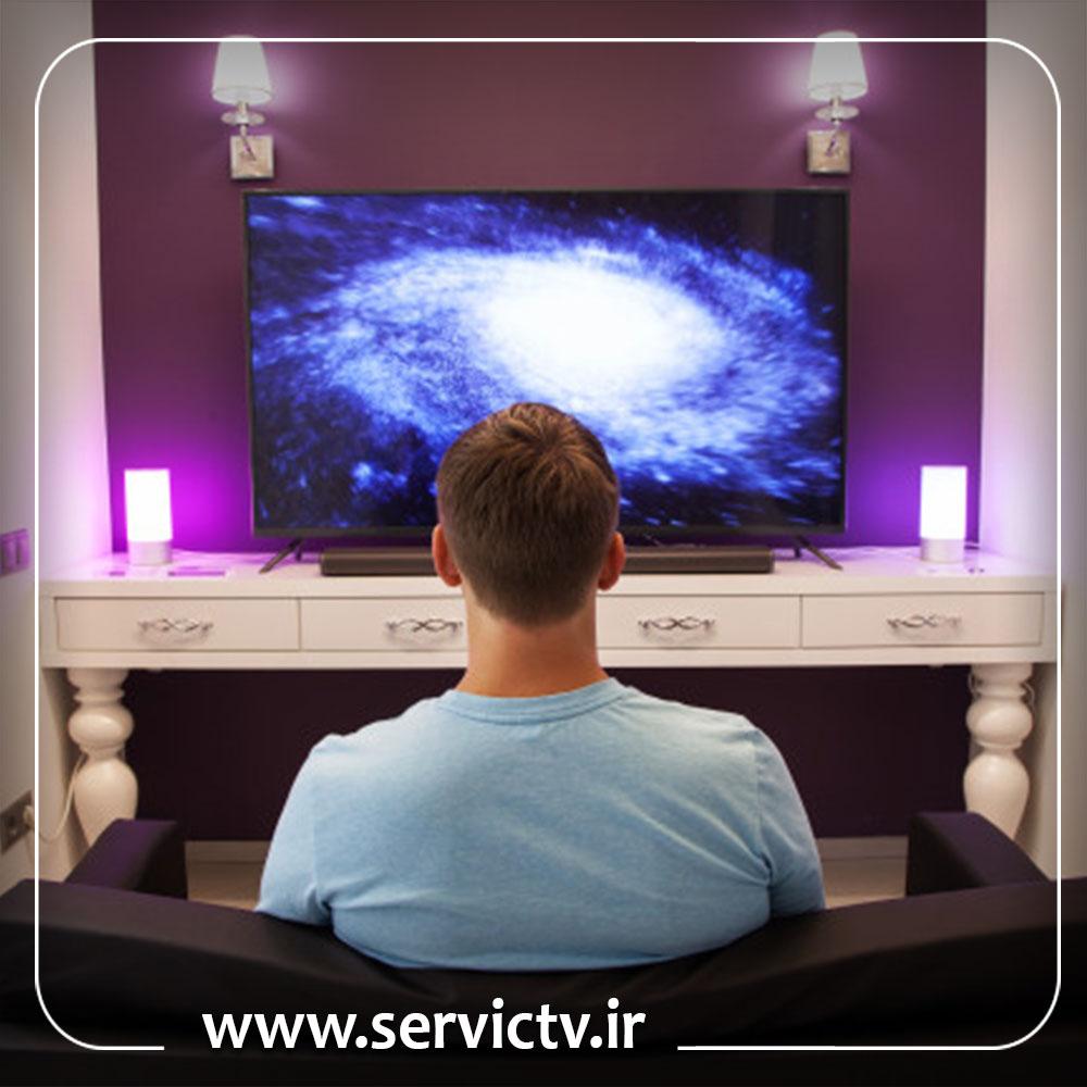 تعمیر پاور تلویزیون ال جی