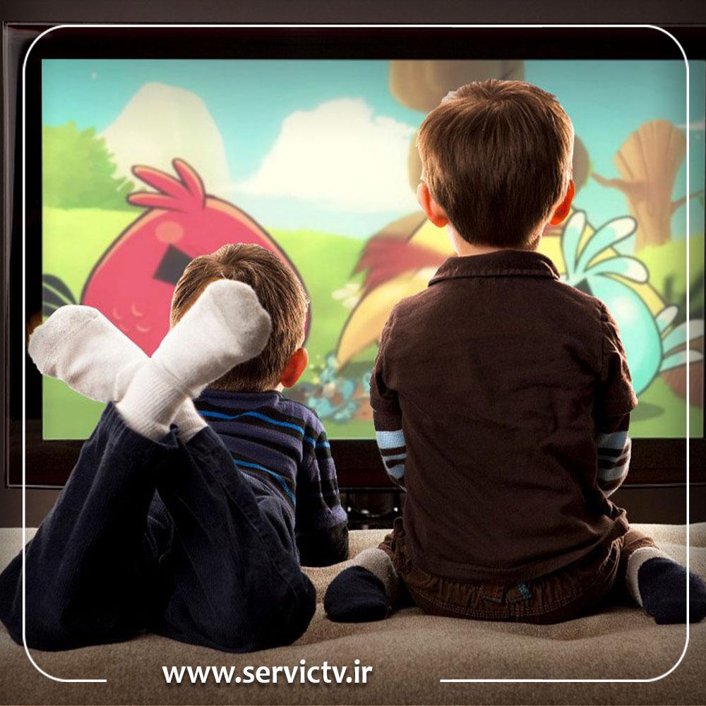 حذف قفل کودک در تلویزیون