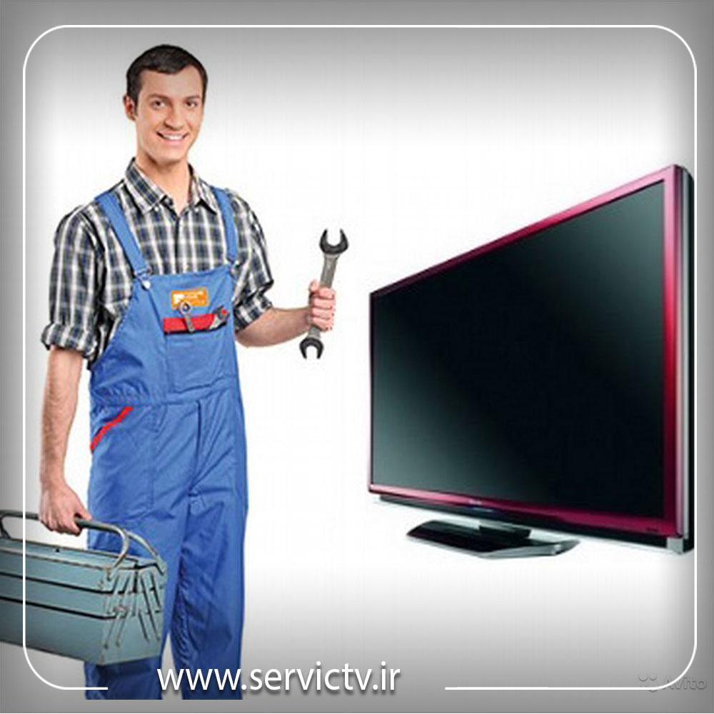 خاموش و روشن شدن تلویزیون سونی