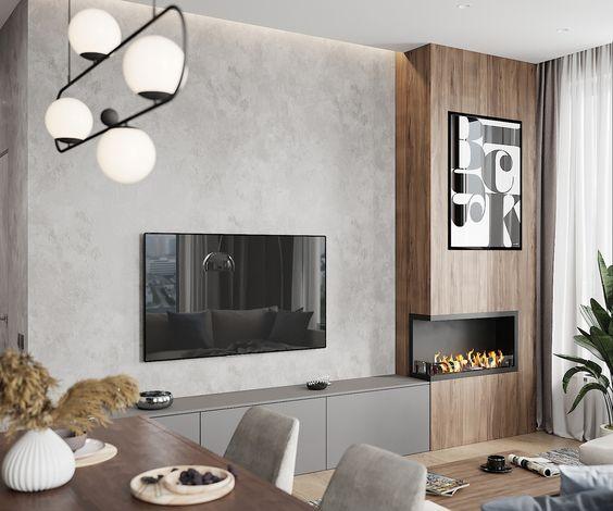 بهترین جایگاه تلویزیون در دکوراسیون منزل