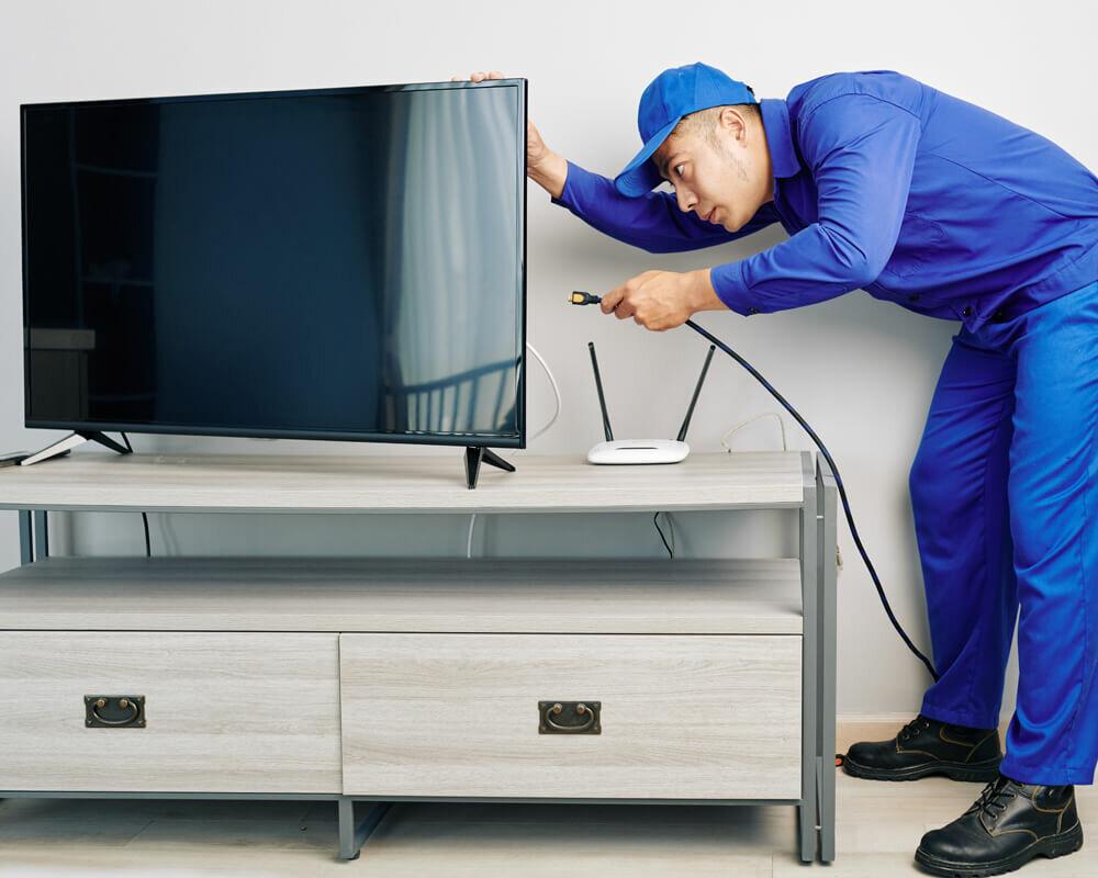 شعبه پشتیبانی تلویزیون